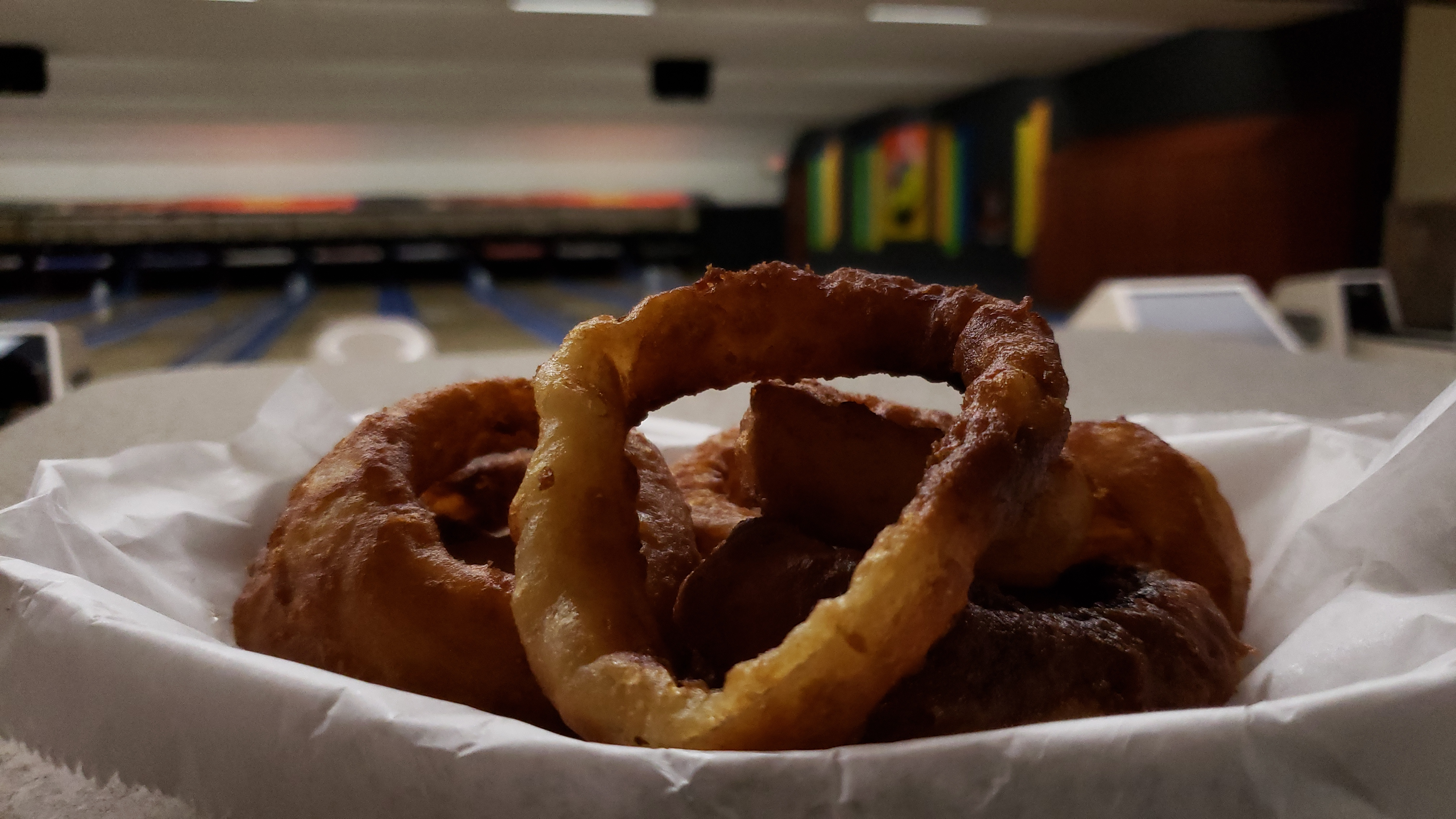 Golden Brown Onion Rings